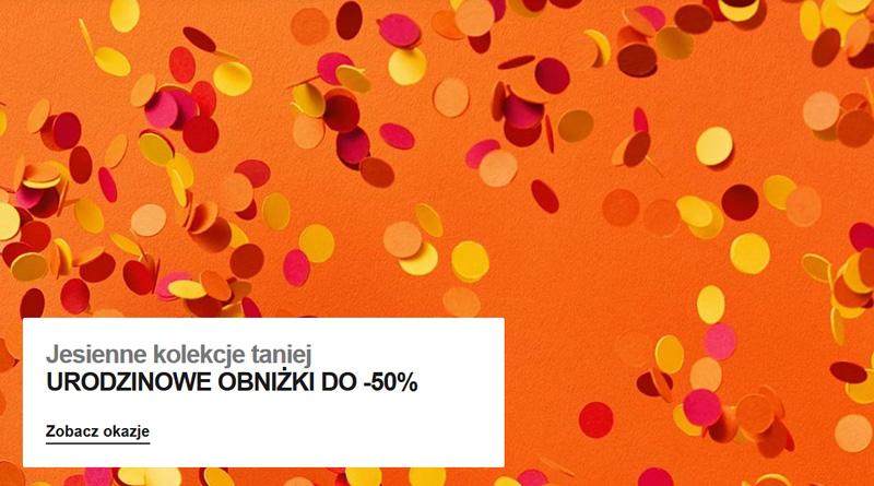 Urodzinowe obniżki do 50% taniej w Zalando