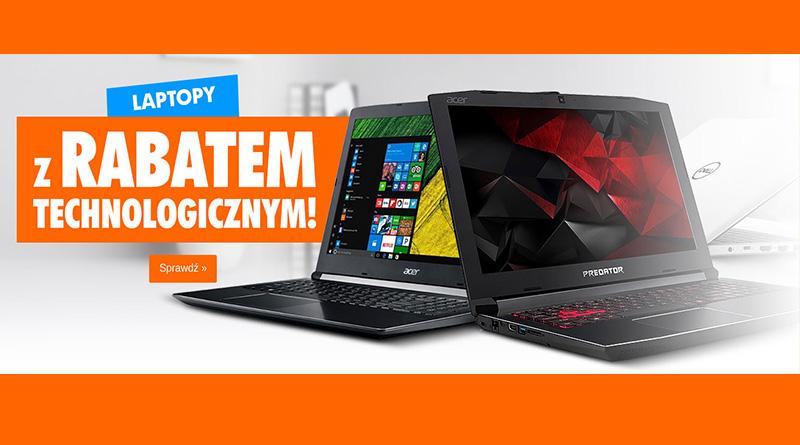 Laptopy z rabatem technologicznym w sklepie Electro
