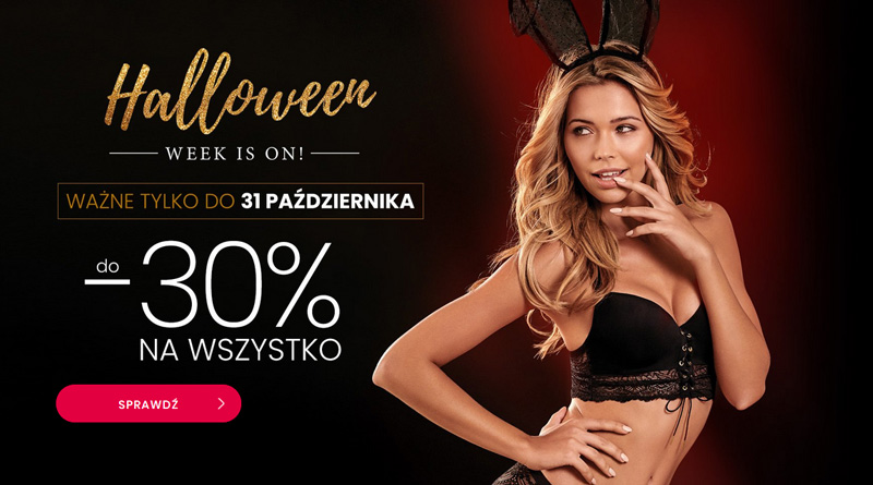 Halloween z rabatem do 30% taniej w Esotiq