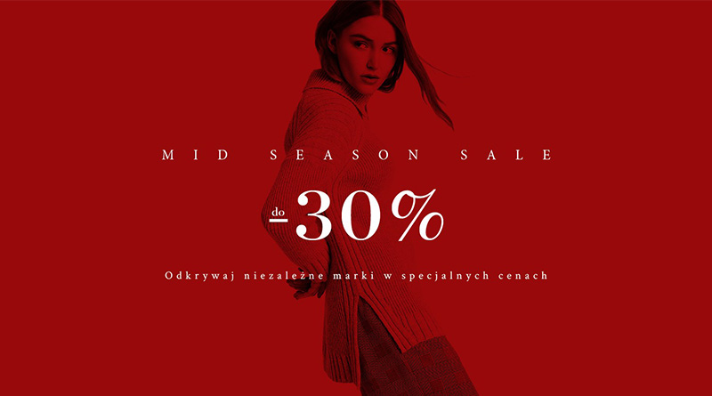 Mid Season Sale do 30% taniej w Showroom