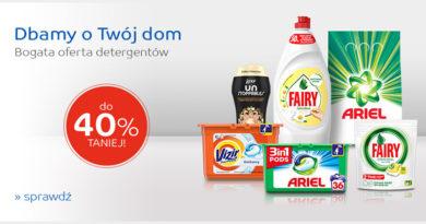 Bogata oferta detergentów do 40% taniej na eMag.pl