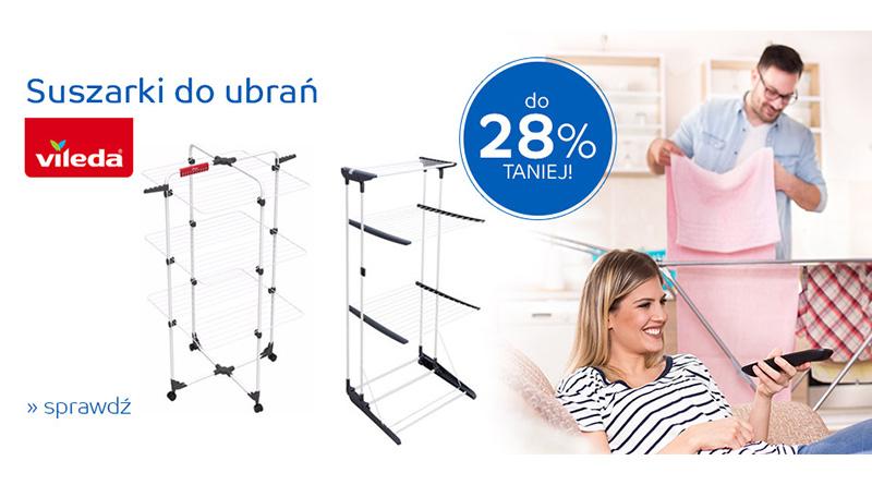 Suszarki do ubrań do 28% taniej na eMag.pl