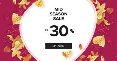 Mid Season Sale do 30% taniej na eobuwie.pl