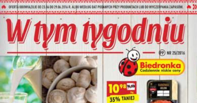gazetka reklamowa biedronki 25