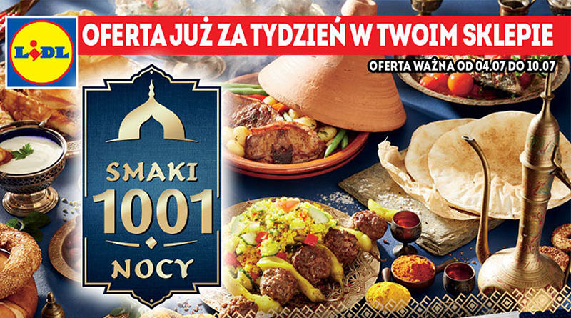 gazetka reklamowa lidla smak 1001 nocy
