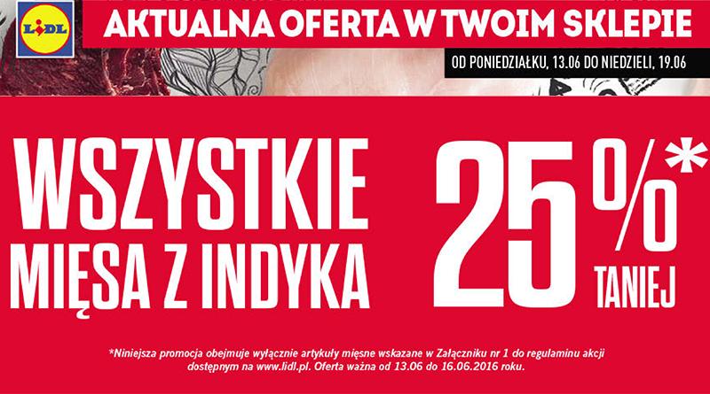 Gazetka Reklamowa Lidla Mięsa Z Indyka 25 Taniej