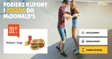 kupony rabatowe McDonald