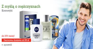 promocja agito na kosmetyki dla mężczyzn