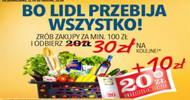 promocja lidl 2016 na kupon 30 zł