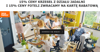 promocja ikea korzesła fotele 2016