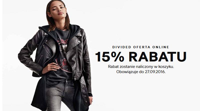 rabat h&m divided 2016