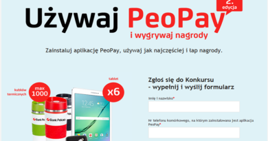 Konkurs Bank Pekao PeoPay