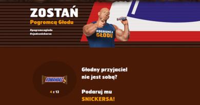 Konkurs Snickers: Zostań pogromcą głodu!
