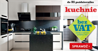 kuchnie bez vat w Black Red White październik 2016