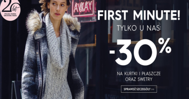 promocja top secret first minute kurtki 2016