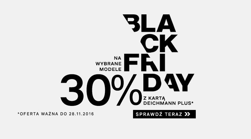 Black Friday Deichmann Na wybrane modele 30% z kartą Deichmann plus