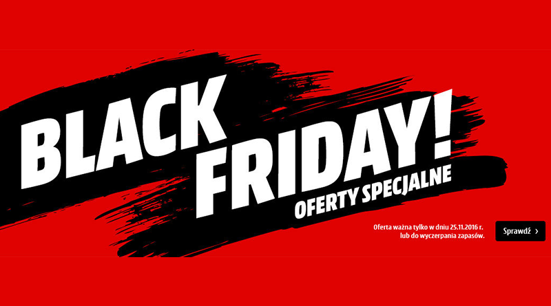 Black Friday Media Markt oferty specjalne