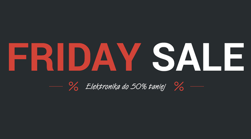 Black Friday Tchibo Elektronika do 50% taniej