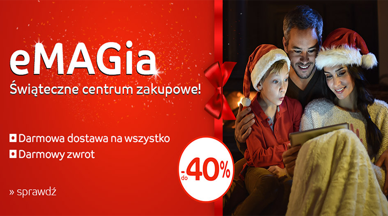eMAGia: Świąteczne centrum zakupowe