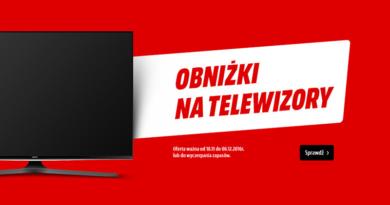 Obniżka na telewizory w Media Markt ważna do 6 grudnia