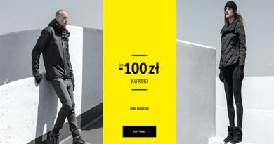 promocja diverse kurtki do 100 złotych taniej 2016