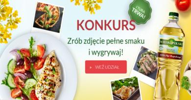 Konkurs Olej Wielkopolski Zrób zdjęcie pełne smaku i wygrywaj