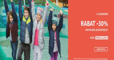 Promocja 4F Rabat -30% na kolekcję dziecięcą