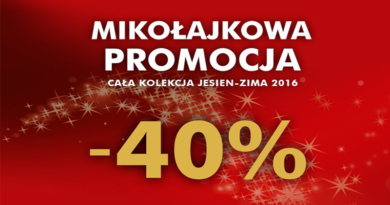 Promocje 5.10.15 Mikołajkowa promocja do -40%