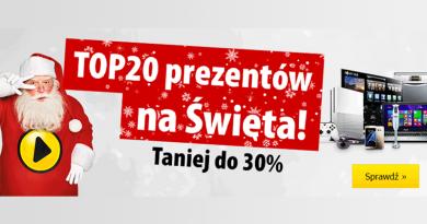 Promocja Media Expert TOP 20 prezentów na Święta