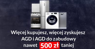 Promocja RTV euro AGD Więcej kupujesz, więcej zyskujesz