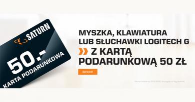 Promocja Saturn Karta podarunkowa 50 zł