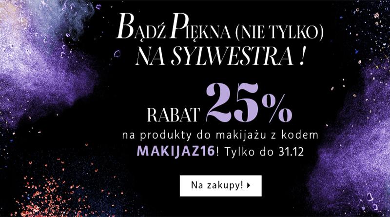 Promocja Sephora Rabat 25% na produkty do makijażu