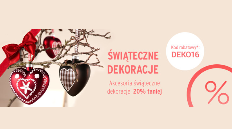 Promocja Tchibo Świąteczne dekoracje do -20% TANIEJ