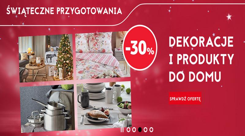 Oferta promocyjna Tesco Świąteczne przygotowania do -30%