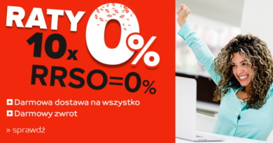 Raty 10x0% eMAG.pl