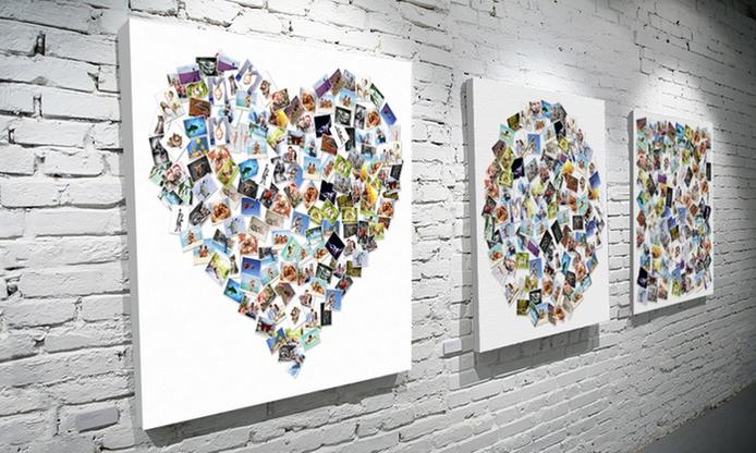 Fotoobraz z kolażem wspólnych zdjęć