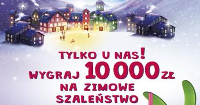 Konkurs Milka Wygraj 10.000 zł na zimowe szaleństwo