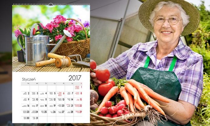 kalendarz ze zdjęciami z okazji dnia babci 2017