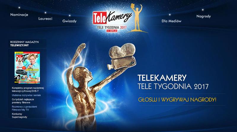 Konkurs Telekamery Tele Tygodnia 2017