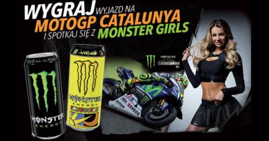 Konkurs Monster: Wygraj wyjazd na MOTOGP Catalunya