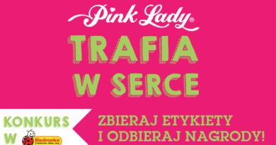 Promocja Biedronka Pink Lady trafia w serce