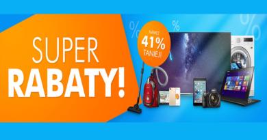 Promocja Electro Super rabaty Nawet 41% TANIEJ