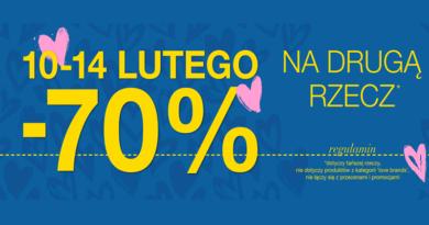 Promocja home&you Rabat -70% na drugą rzecz