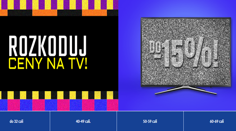 Promocja RTV euro AGD Rozkoduj ceny na TV