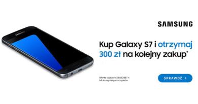 Promocja Saturn Kup Galaxy S7 i otrzymaj 300 zł