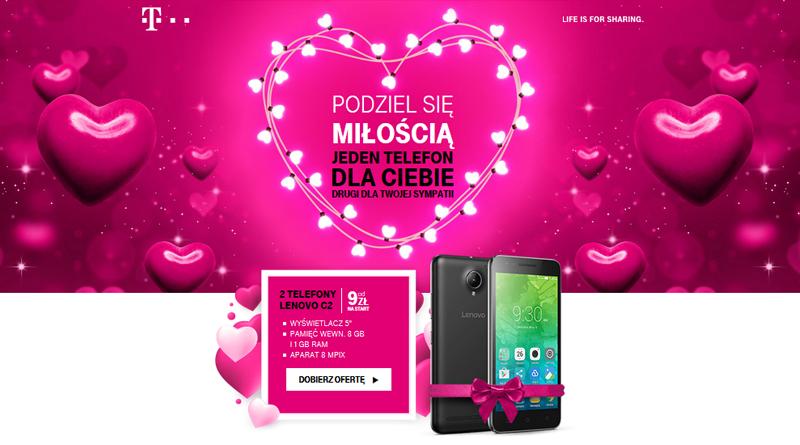 Promocja T-Mobile Podziel się miłością