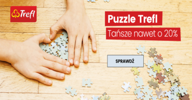 Puzzle Trefl tańsze nawet o 20% w sklepie Urwis.pl