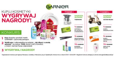 Konkurs Biedronka Kupuj kosmetyki i wygrywaj nagrody