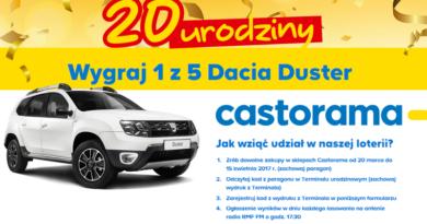 Loteria Castorama z okazji 20 urodzin sklepu