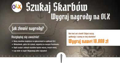 Konkurs OLX Poszukiwacze Skarbów